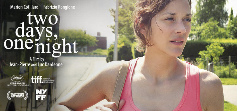 Marion Cotillard in two days one night