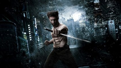 hugh jackman as wolverine in The Wolverine [2013]
