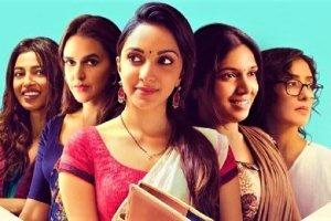 Radhika Apte,Neha Dhupia, Kiara Advani,Bhumi Pednekar in Lust Stories 2018