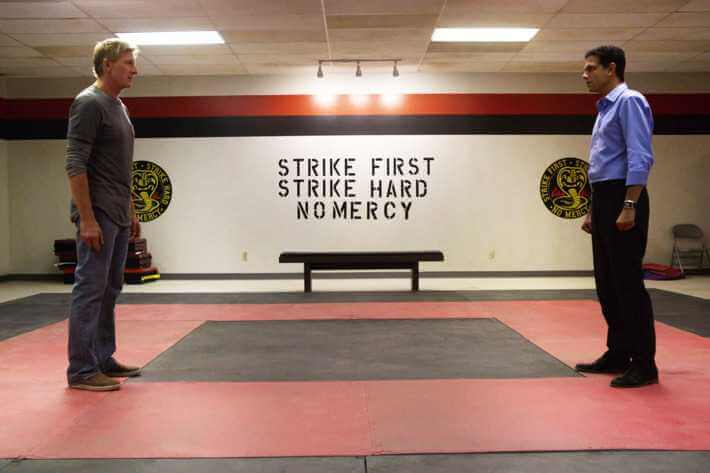 Ralph Macchio and William Zabka in Cobra Kai (2018)_MEMS