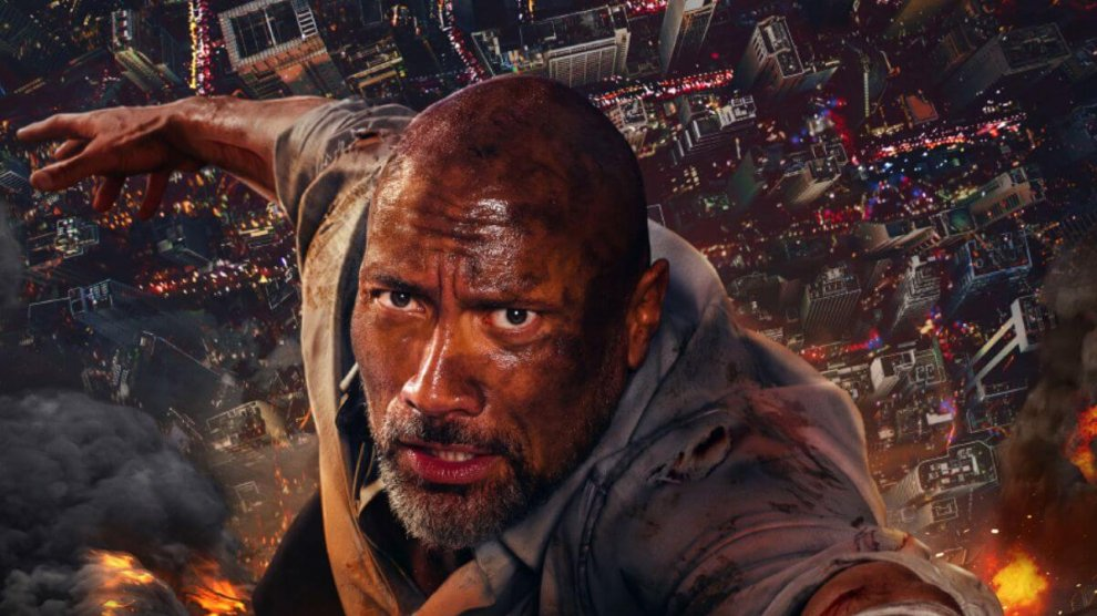Skyscraper_movie_2018_Dwayne Johnson_poster