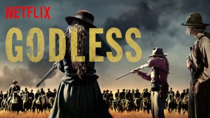 Godless (2017) miniseries Review Netflix's HD poster