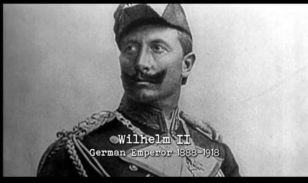 Kaiser Wilhelm II in The Untold History of the United States (2012)